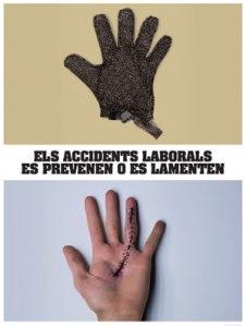 Els accidentes laborals es prevenen o es lamenten